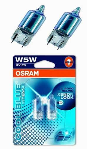 W5W 12v 5w 501 Car Sidelight Bulb Osram Cool Blue Intense 4000k Halogen Xenon
